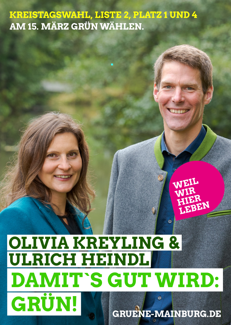 Unsere Mainburger Spitzenkandidaten für die Kreistagswahl (© Anton Mirwald)
